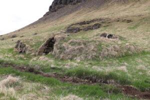 Eftir að búsetu lauk í Ekru voru húsin endurbyggð og nýtt sem hesthús, fjárhús og hlaða.