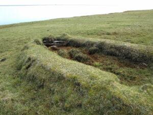 Bátanaustið, upp af bökkum Breiðabólsstaðarlóns.